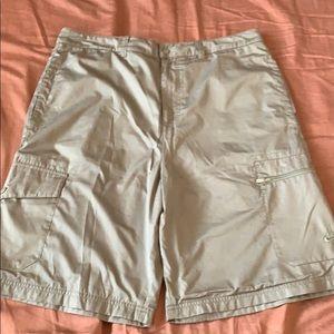 Men's Nike cargo nylon shorts